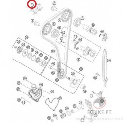 TIMING CHAIN GUIDE TOP